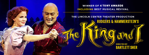 "Goditi la pluripremiata e acclamata dalla critica produzione del Lincoln Center Theater di ""The King and I"" di Rodgers e Hammerstein all'iconico Palladium di Londra nella Primavera 2018. Prenota online!"