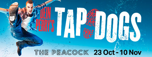 Oplev Tap Dogs i London, det fantastiske step show på Novello Theatre i London. Billetter til Tap Dogs i London kan købes her!