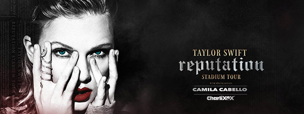Book tickets for Taylor Swift's reputation Stadium Tour in London. With speical guests Camila Cabello & CharliXOX . Book concert tickets for Taylor Swift in London here!