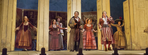 The Barber of Seville by Gioachino Rossini is a family friendly version, sung in English. Tickets for The Barber of Seville in New York can be booked here!