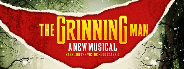 The Grinning Man is a magical musical reimagining of the classic novel by Victor Hugo. Who is Grinpayne and how did he get his hideous smile? Book online!