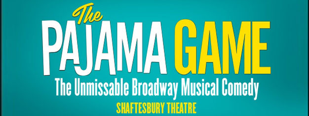 The Broadway classic The Pajama Game the Musical will play at London's West End for a limited season. book tickets for The Pajama Game the Musical in London here!