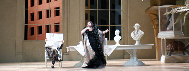 Oplev Stravinskys eneste fuldlængde opera The Rake's Progress the Metropolitan Opera House i New York.