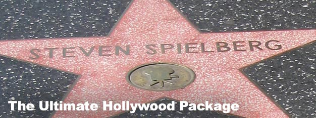 The Ultimate Hollywood package includes tickets to: The Movie Stars Homes Tour, a 24 hour Hop-On Hop-Off Pass and admission to Madame Tussauds.
