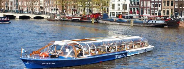 Achetez des billets pourThe #1 Canal Cruise Amsterdam et voguez sur les magnifiques canaux d'Amsterdam. Réservez vos billets pourThe #1 Canal Cruise Amsterdam ici!