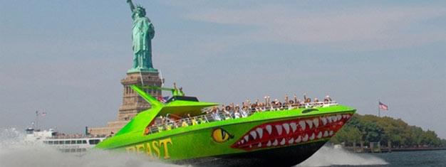 Bestil billetter til Bæstet i New York. Flyv hen over vandet gennem Manhattans skyskrabere på dit livs tur. Bestil billetter til Bæstet her!