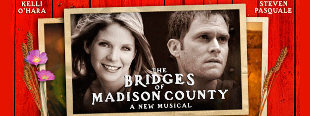 The Bridges of Madison County is a new Musical on Broadway in New York. Book your tickets for The Bridges of Madison County the Musical in New York here!