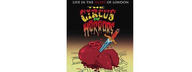 The Circus of Horrors indtager London's West End med deres største show til dato. Billetter til The Circus of Horrors i London købes her!