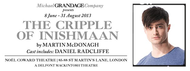 The Cripple of Inishmaan i London med Daniel Radcliffe. Bestil dine billetter til The Cripple of Inishmaan i London her, der er rift om billetterne!