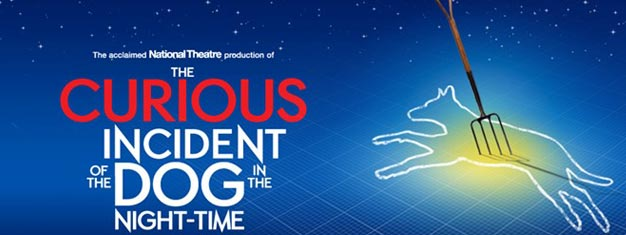Upplev den prisbelönta pjäsen The Curious Incident of the Dog in the Night i London. Vinnare av utmärkelsen Best Play 2015! Boka dina biljetter online!