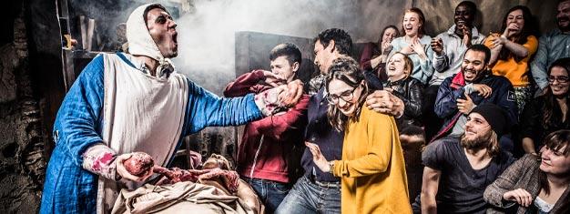 Huuda ja naura Edinburgh Dungeonissa - tässä ainutlaatuisessa ja jännittävässä käyntikohteessa! Koe 360° esityspaikat ja kiehtovaa tarinankerrontaa. Osta lippusi netistä!