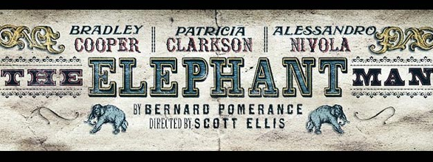The Elephant Man will play on Broadway in New York, and with Bradley Cooper in the leading role. Book your tickets for The Elephant Man in New York here!