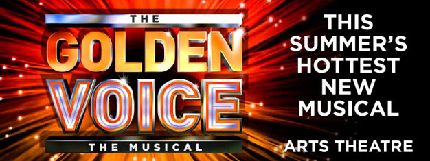 The Golden Voice is a brand new musical in London. Book your tickets for The Golden Voice the Musical in London here!