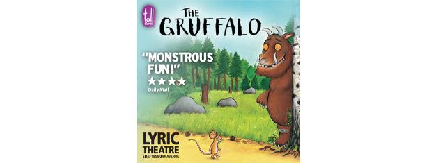 For tredje år i træk er familie skuespillet The Gruffalo på plakaten i London henover julen. The Gruffalo er hygge, musical & skuespil for hele familien.