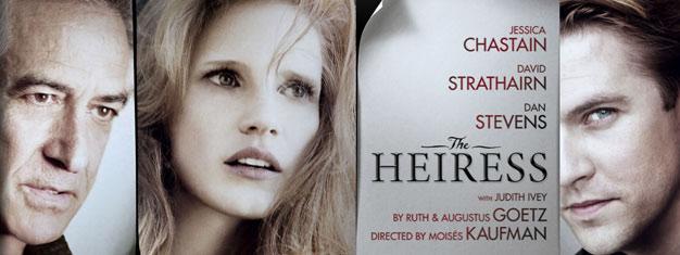 The Heiress på Walter Kerr Theatre på Broadway i New York er et ægte kærlighedsdrama. Bestil dine billetter til The Heiressi New York her!