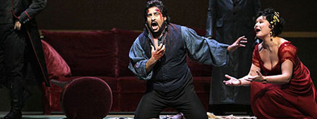 Tosca at The Metropolitan Opera House in New York. Tickets for Tosca by Puccini at The Met in New York here!