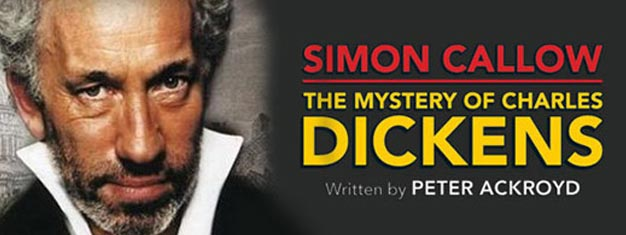 Simon Callow returns to the West End stage in London in Peter Ackroyd's acclaimed play The Mystery of Charles Dickens. Book Tickets here!