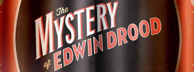 The Mystery of Edwin Drood the musical on Broadway in New York, is based on the unfinished novel by Charles Dickens. Tickets for The Mystery of Edwin Drood the musical in New York here!
