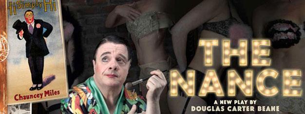 The Nance på Broadway i New York foregår i New York i 1930'erne, med Nathan Lane i hovedrollen. Billetter til The Nance i New York kan bestilles her!