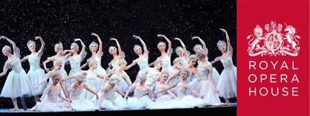 Aldri en jul uten den klassiske juleballetten, Nøtteknekkeren. Stykket spilles i London til glede for hele familien. Vi skaffer deg billettene!