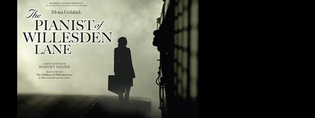 Baseret på en sand historie om håb og overlevelse igennem musik midt under 2. Verdenskrig. Bestil dine billetter til The Pianist of Willesden Lane i London her!