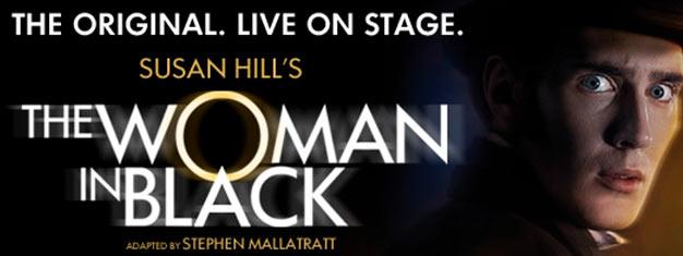 The Woman In Black är en av de mest spännande, gripande och framgångsrika pjäserna någonsin. Pjäsen har spelats mer än 25 år i London. Boka biljetter online!