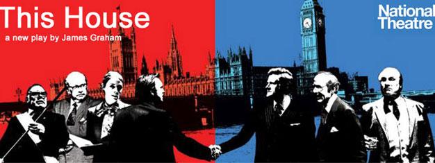 This House er et politisk drama der foregår i England under de kritiske år i 1970'erne. Billetter til This House i London kan bestilles her!