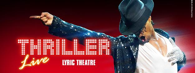 """""""ثريلر"""" نزهة السير على القمر في إيست إتد لندن. تباع تذاكر """"ثريلر"""" هنا في لندن! احتفل بملك البوب -- مايكل جاكسون. Thriller - Live, Michael Jackson"""