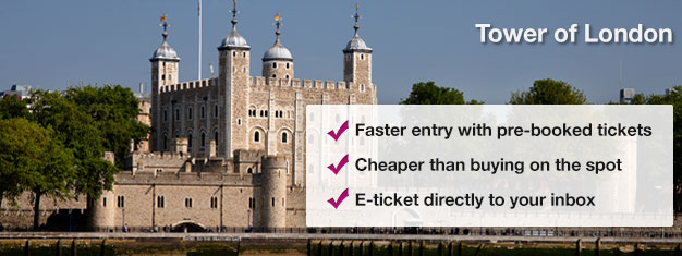 Purchase tickets to the Tower of London and learn all there is to know about this nearly 1,000 year old historical site. Skip the lines at the box office, book today!