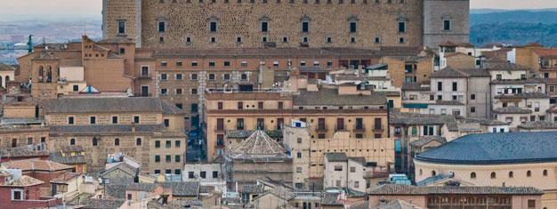 Wenn Sie schon in Madrid sind, warum nicht gleich die schöne Statd Toledo, nur 70km von Madrid, besuchen?! Tickets für einen halben Tagestrip nach Toledo hier buchen.
