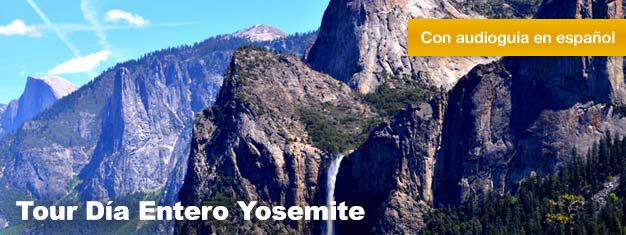 Con el Tour de Dia Entero de Yosemite, podrás descubrirelmajestuoso Parque Nacional Yosemite y los arboles Sequoia Gigantes. Reserva tu entrada aquí!