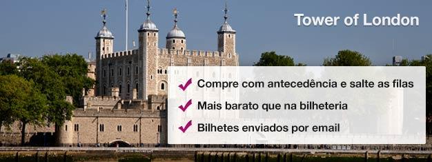 A Tower of London inclui as Joias da Coroa, os famosos Beefeaters, a Torre Sangrenta e o Portão dos Traidores.Reserve online seu bilhete aqui!