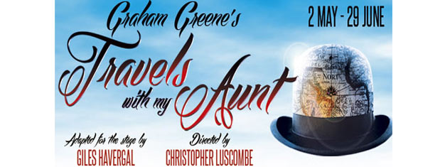 The Menier Chocolate Factory in London is excited to announce Graham Greene's classic comic novel Travels With My Aunt. Tickets for Travels With My Aunt in London here!