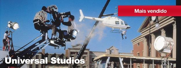 Com montanhas russas e brinquedos emocioinantes, um estúdio de cinema em funcionamento e as melhores lojas e restaurantes de Los Angeles, a Universal Studio é um must-do!