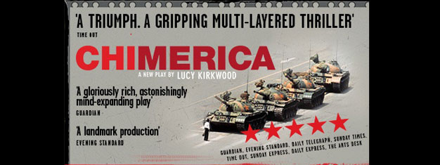 Chimerica is a stunning new play and drama in London by Lucy Kirkwood. Book your tickets for Chimerica in London here!