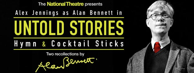 Untold Stories in London features two autobiographical recollections by Alan Bennett. Tickets to Untold Stories in London can be booked here!