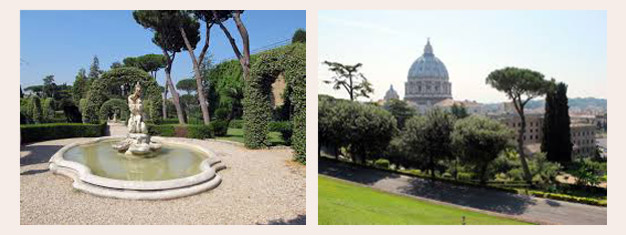 Explorez les jardins du Vatican avec un bus ouvert pour admirer la monuments, œuvres d'art et merveilles naturelles! Réservez vos billets ici !