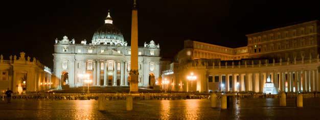 Njut av en exklusiv guidning av Vatikanens museum efter ordinarie stängningstid! Beundra de världsberömda konstverken. Inkl. middagsbuffé! Boka online!