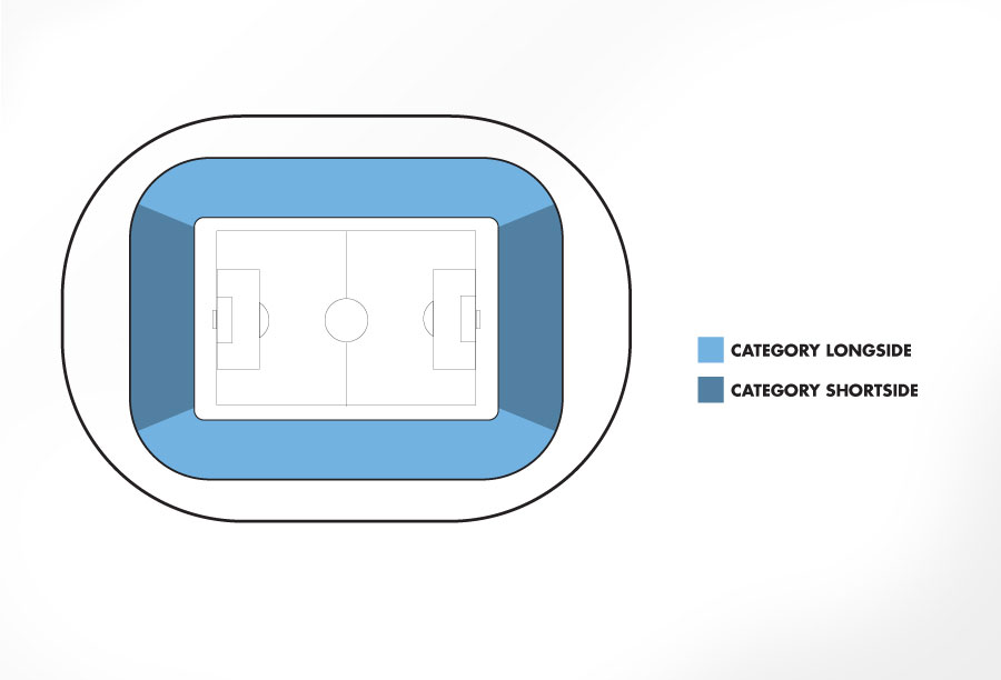 Venue seatingplan Vicente Calderon