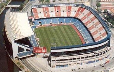 Arenainfo Vicente Calderon Madrid. MadridFotboll.se