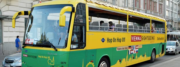 Vienna Hop-On Hop-Off City sightseeing is a great way to explore the city. Buy your 1, 2 or 3-day pass + family tickets here. Book online!