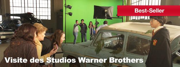 Soyez privilégié et découvrez le monde du divertissement avecLa Visite VIP des Studios Warner Brothers. Vous aurez la chance de découvrir les coulisses des scènes et des plateaux et de voir là où la magie se produit.