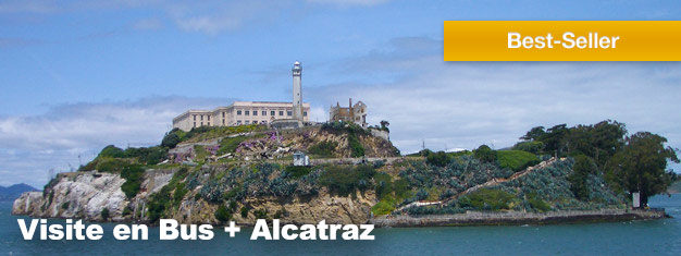 Le package de Visite 4 en 1, c'est la meilleure excursion pour découvrir San Francisco. Le package inclus également une visite sur l'île d'Alcatraz. Achetez vos billets en ligne, dès maintenant!