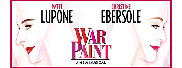 War Paint the Musical in New York tells the remarkable story of cosmetics titans Helena Rubinstein and Elizabeth Arden. Book your tickets for War Paint the Musical here!