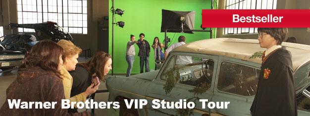 Erhalten Sie einen seltenen Einblick in die Welt der Unterhaltungsindustrie auf unserer Warner Brothers VIP Studio Tour. Blicken Sie hinter die Kulissen und sehen Sie wo die Magie ihren Lauf nimmt.