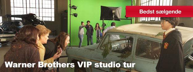 Få et sjældent indblik i underholdningsbranchen på vores Warner Brothers VIP Studio tur. Du kommer bagom scenen og ser, hvor alt magien sker.