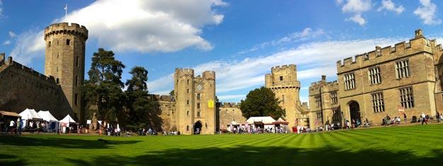 Varaa liput Lontoon ulkopuolella sijaitsevaan Warwickin linnaan tästä, ja todista itse paikanpäältä sen 1000-vuotinen hämmästyttävähistoria. Varaa paikkasi Warwickin linnaan tästä!