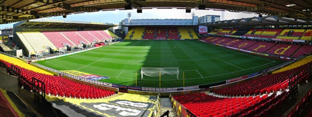 Watford FC vs Fulham at Vicarage Road on 2019-04-06 - 2019-04-07