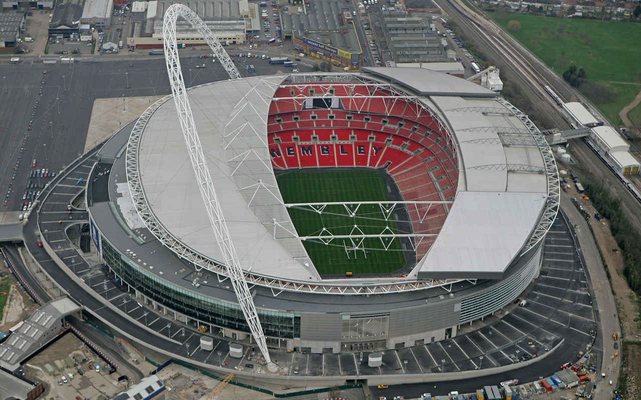 Estadio Wembley Stadium. FútbolenLondres.es