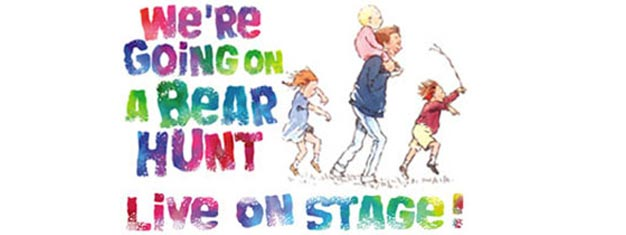 We're Going On A Bear Hunt in London is the stage adoption from Michael Rosen's famous book. Tickets for We're Going On A Bear Hunt in London here!